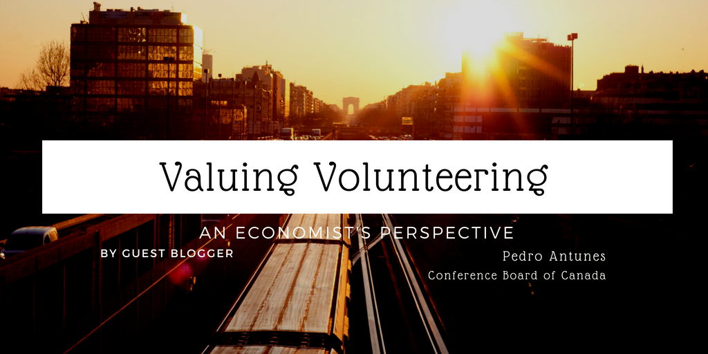 Valuing Volunteering - An Economist's Perspective