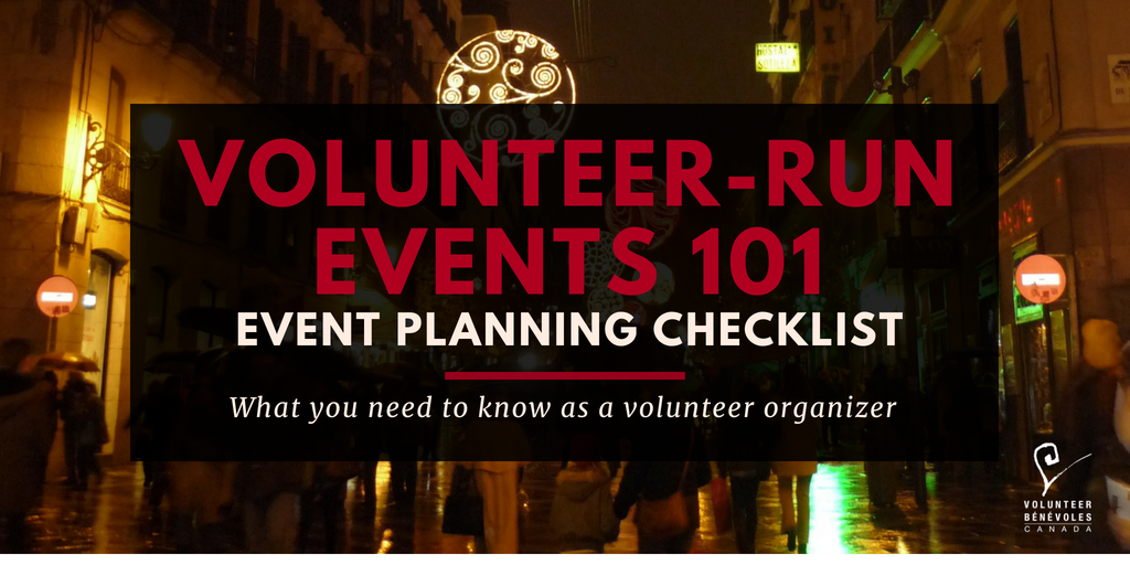Volunteer-Run Events 101
